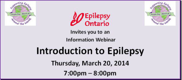 Want more epilepsy information? Then this is the webinar for you