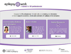 Online toolkit designed to help employers of people with epilepsy