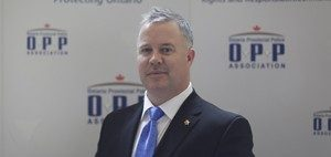 Ontario Provincial Police Association president and CEO Rob Jamieson